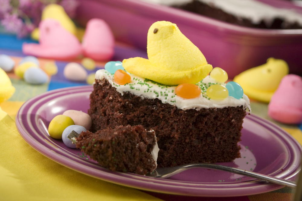 Traditional Easter Desserts  Easter Candy Cake