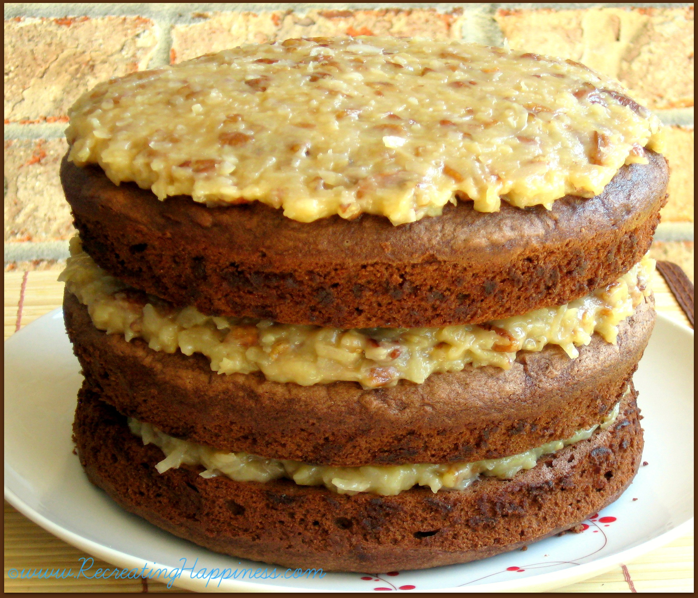 Traditional German Chocolate Cake  German Chocolate Cake
