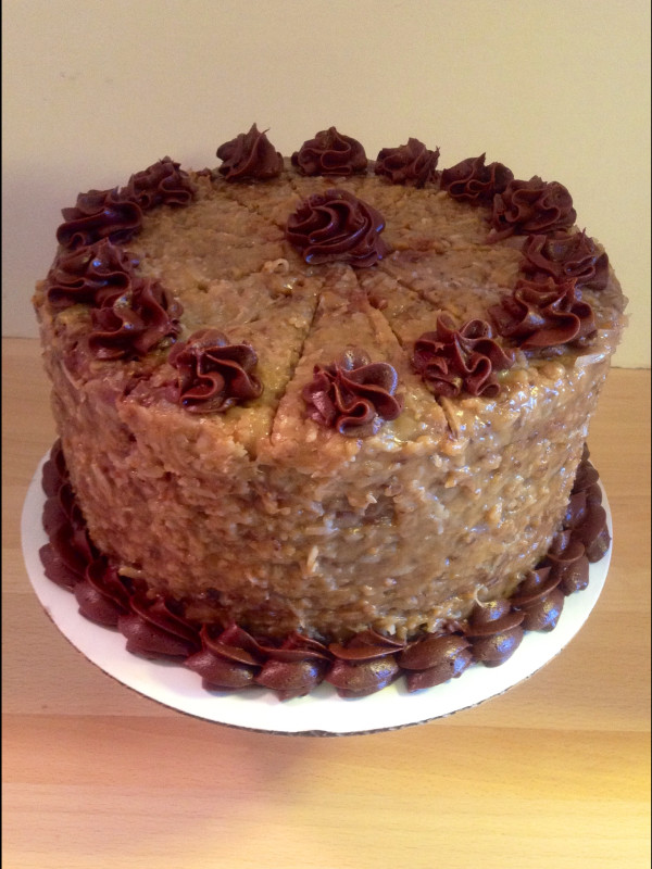 Traditional German Chocolate Cake  Cake Crazy Bakery
