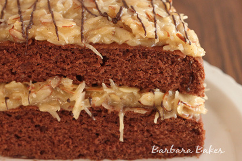 Traditional German Chocolate Cake  Easy German Chocolate Cake
