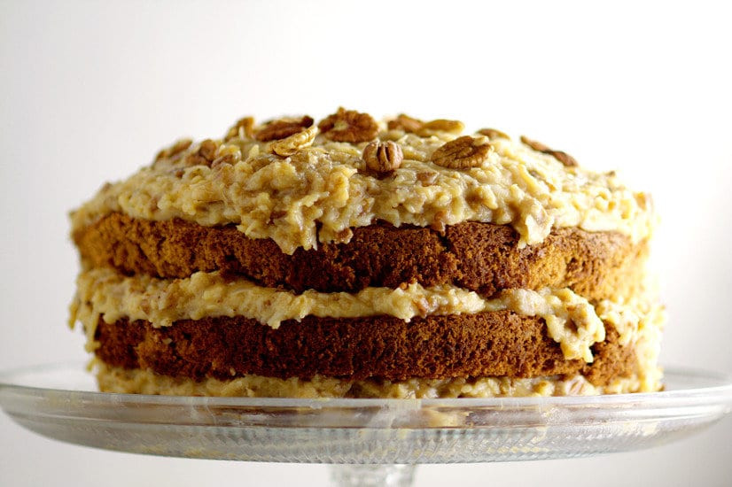 Traditional German Chocolate Cake  Traditional German Chocolate Cake