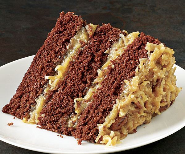 Traditional German Chocolate Cake  German Chocolate Cake Recipe FineCooking
