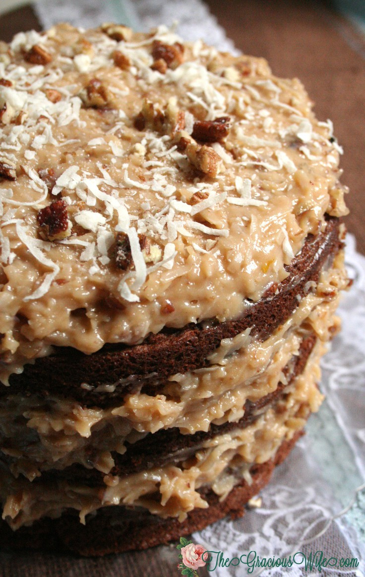 Traditional German Chocolate Cake  German Chocolate Cake Recipe