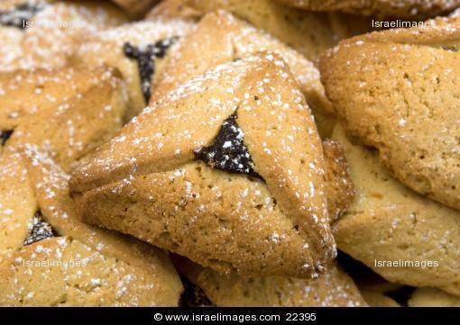 Traditional Hanukkah Cookies  Purim pastry Hamantaschen traditional Jewish cookies