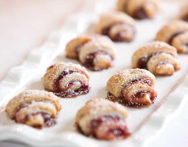Traditional Hanukkah Cookies  Jam Filled Rugelach TeaTime Magazine