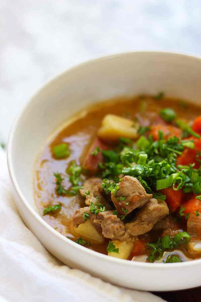 Traditional Irish Stew  Easy Traditional Irish Stew Made Authentic With Lamb