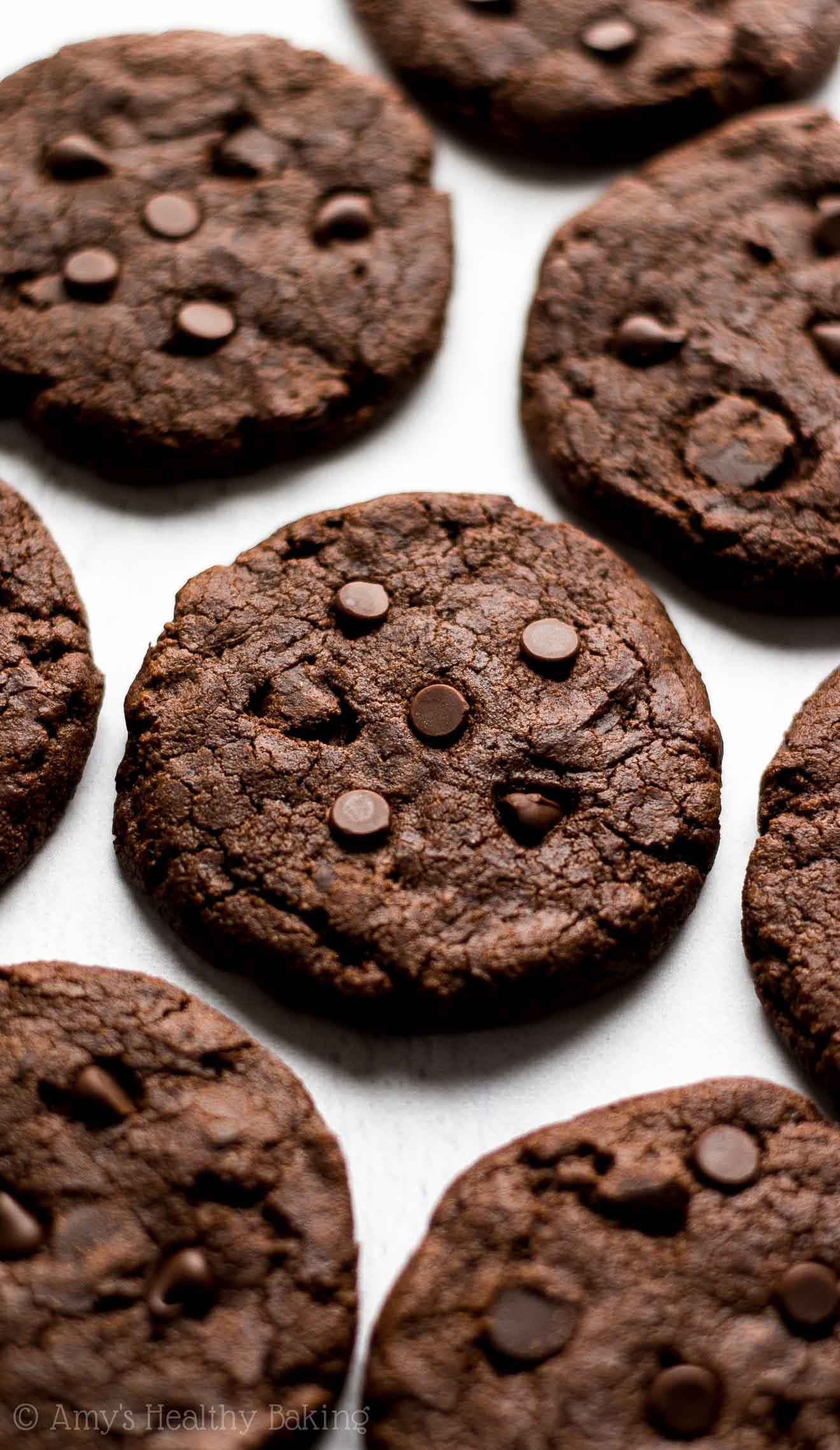 Triple Chocolate Cookies  Fudgy Triple Chocolate Cookies