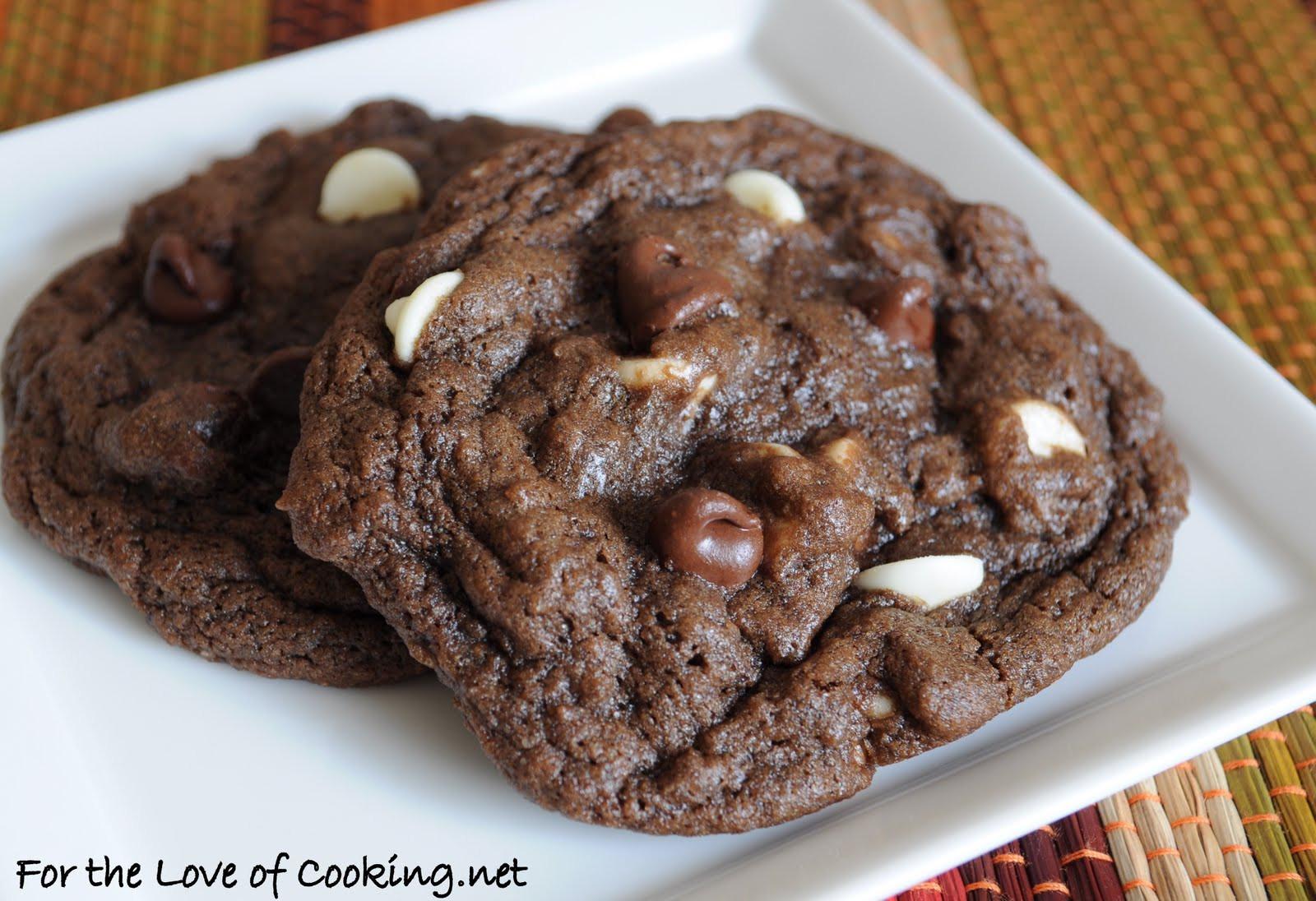 Triple Chocolate Cookies  Triple Chocolate Cookies