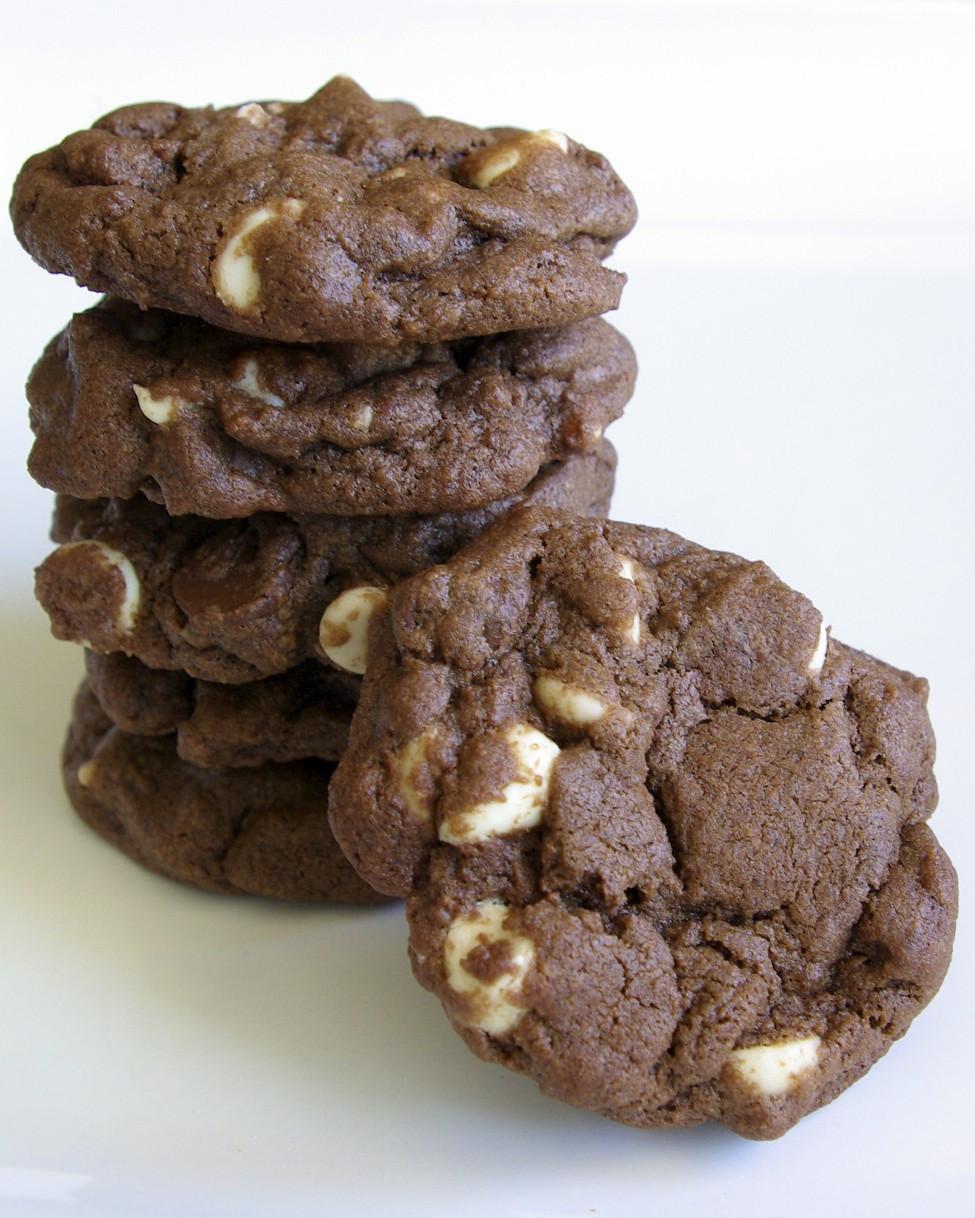 Triple Chocolate Cookies  Triple Chocolate Cookies – Paula s Plate