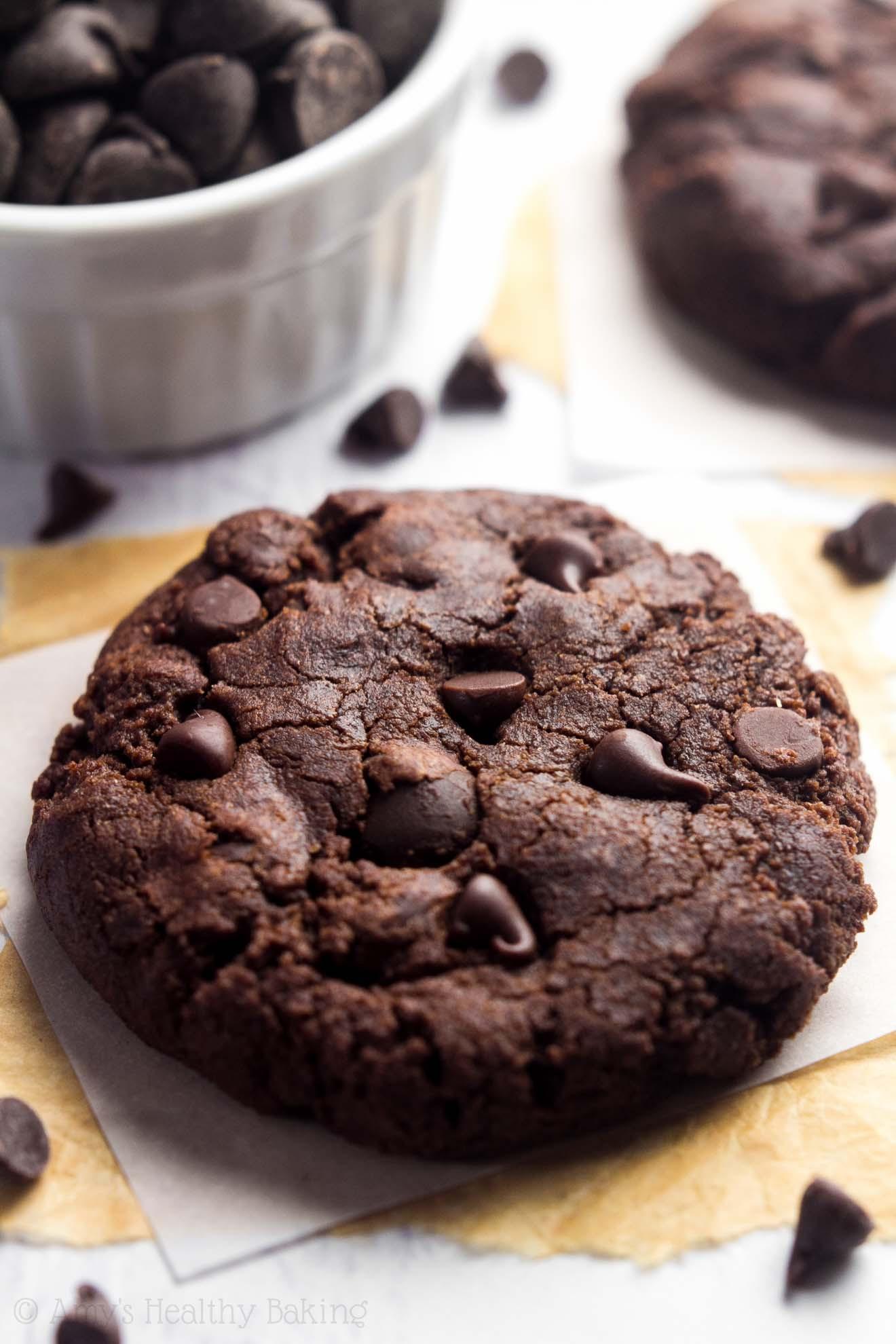 Triple Chocolate Cookies  Triple Chocolate Peppermint Cookies