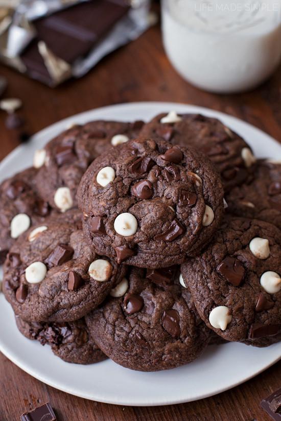 Triple Chocolate Cookies  Triple Chocolate Cookies Life Made Simple