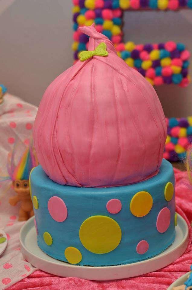 Troll Birthday Cake  Trolls Birthday Party Ideas 3 of 7