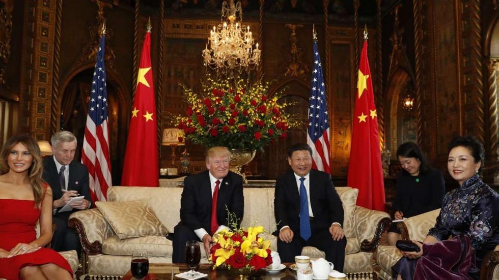 Trump Xi Dinner  As North Korea tests US China ties Xi and Trump look to