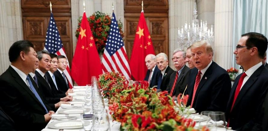 Trump Xi Dinner  Trump Xi Dinner Concludes With Applause Lasts Longer Than