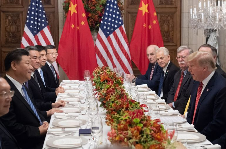 Trump Xi Dinner  President Trump Chinese President Xi Jinping Agree to 90