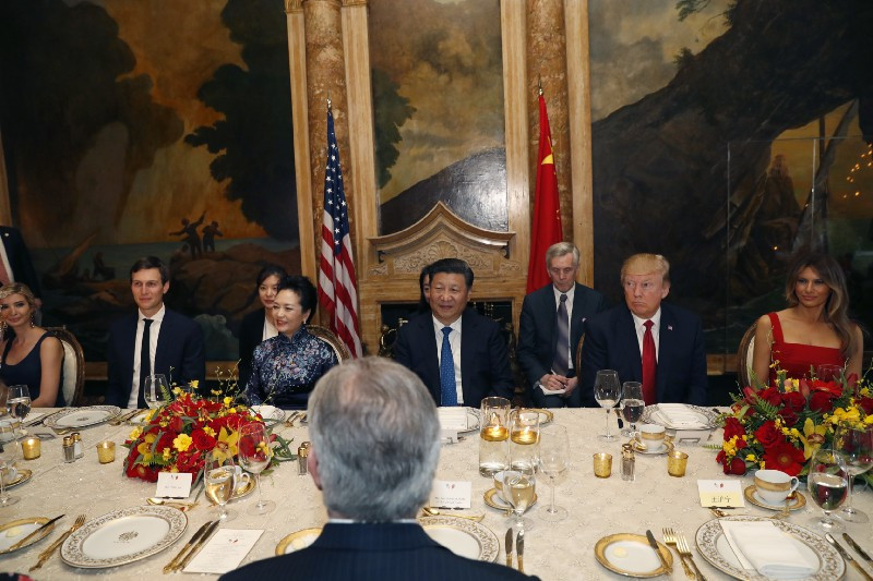 Trump Xi Dinner  Chinese president's trip to Mar a Lago coincided with
