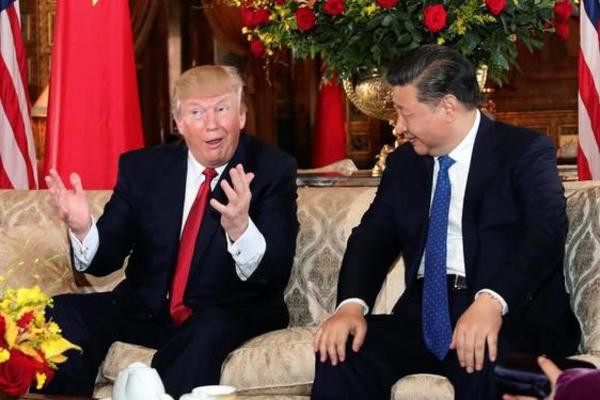 Trump Xi Dinner  US's Trump China's Xi dine ahead of talks on security