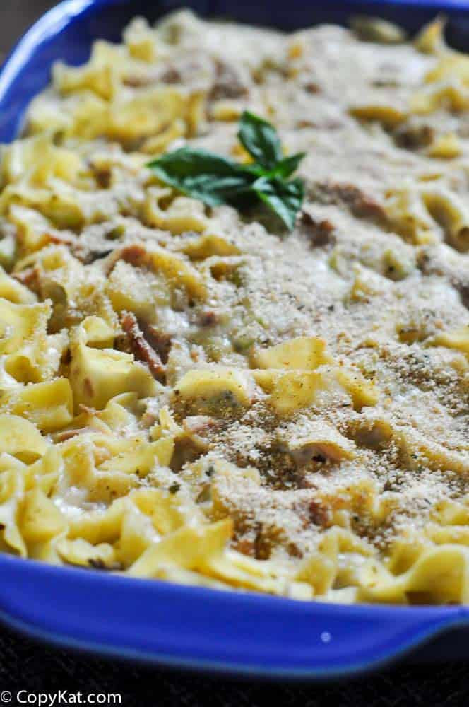 Tuna Casserole From Scratch  Creamy Tuna Noodle Casserole by CopyKat