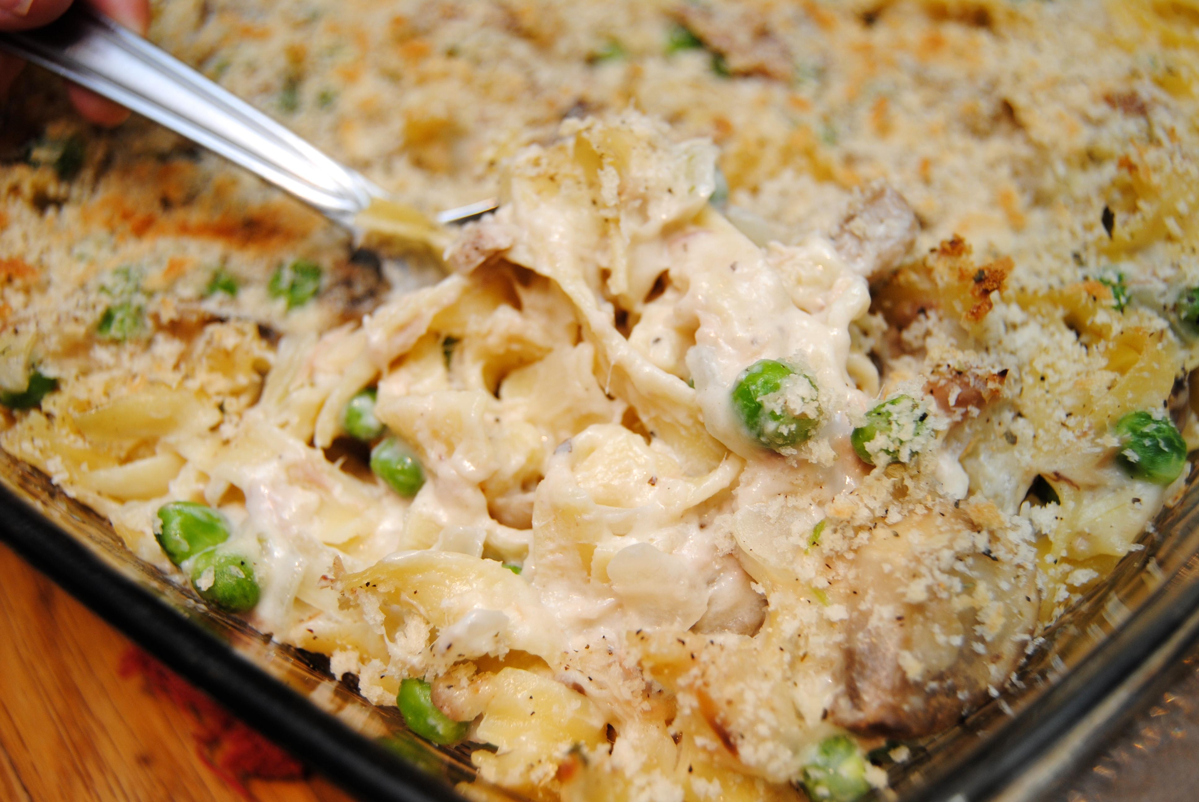 Tuna Casserole From Scratch  tuna rice casserole from scratch