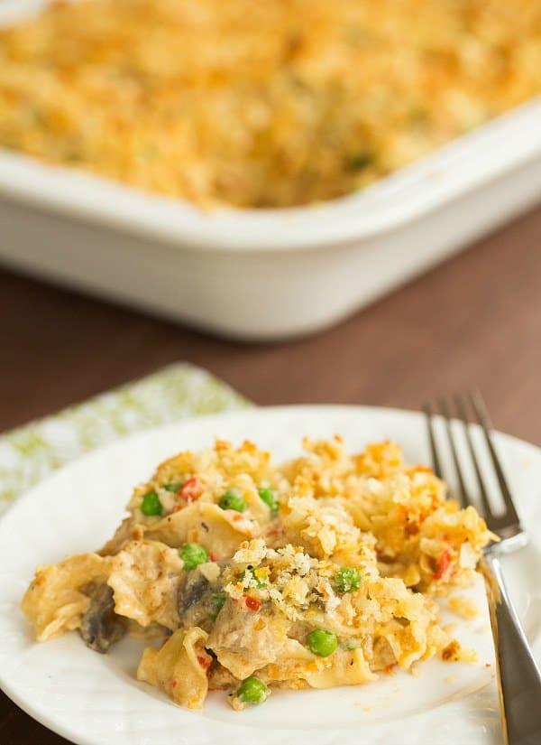 Tuna Casserole From Scratch  Tuna Noodle Casserole Recipe From Scratch