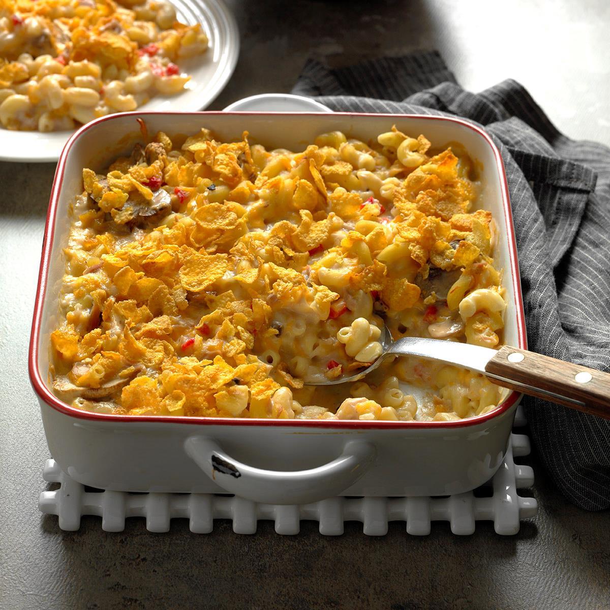 Tuna Fish Casserole  De Lightful Tuna Casserole Recipe