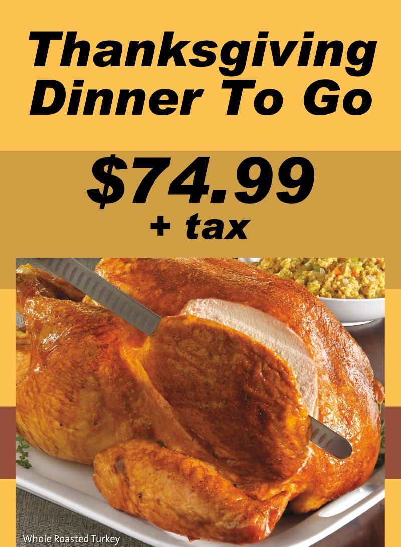 Turkey Dinner To Go  Thanksgiving Dinner To Go Golden Corral Lumberton