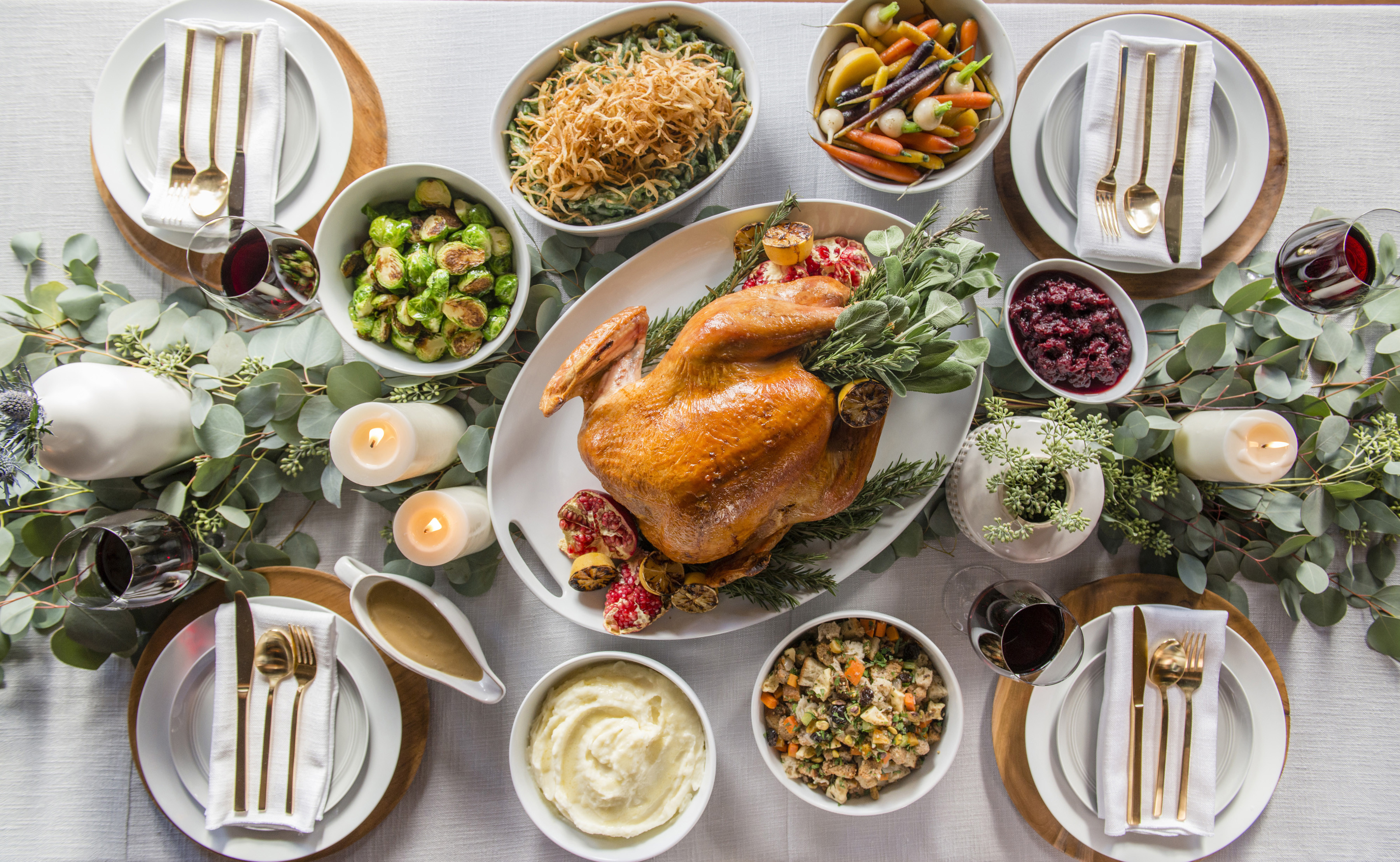Turkey Dinner To Go  THANKSGIVING DINNER TO GO Sapphire Laguna