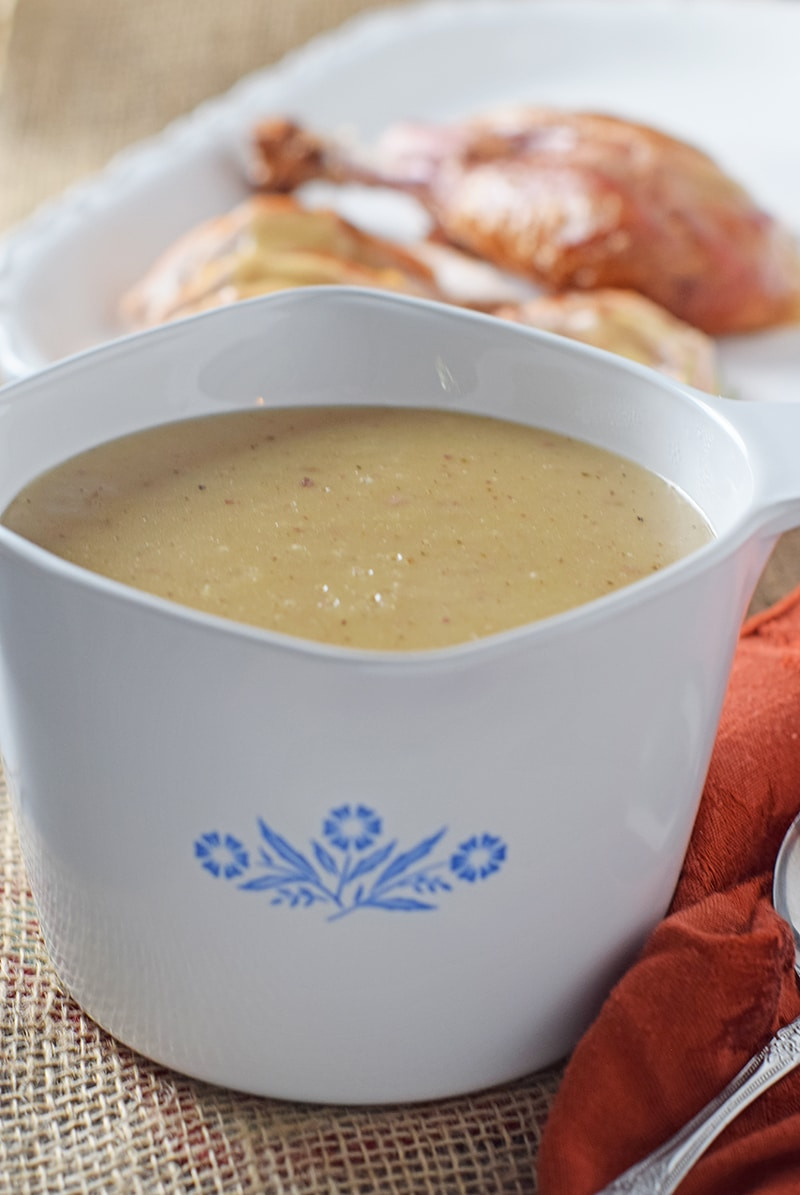 Turkey Gravy From Drippings  how to make gravy from turkey drippings
