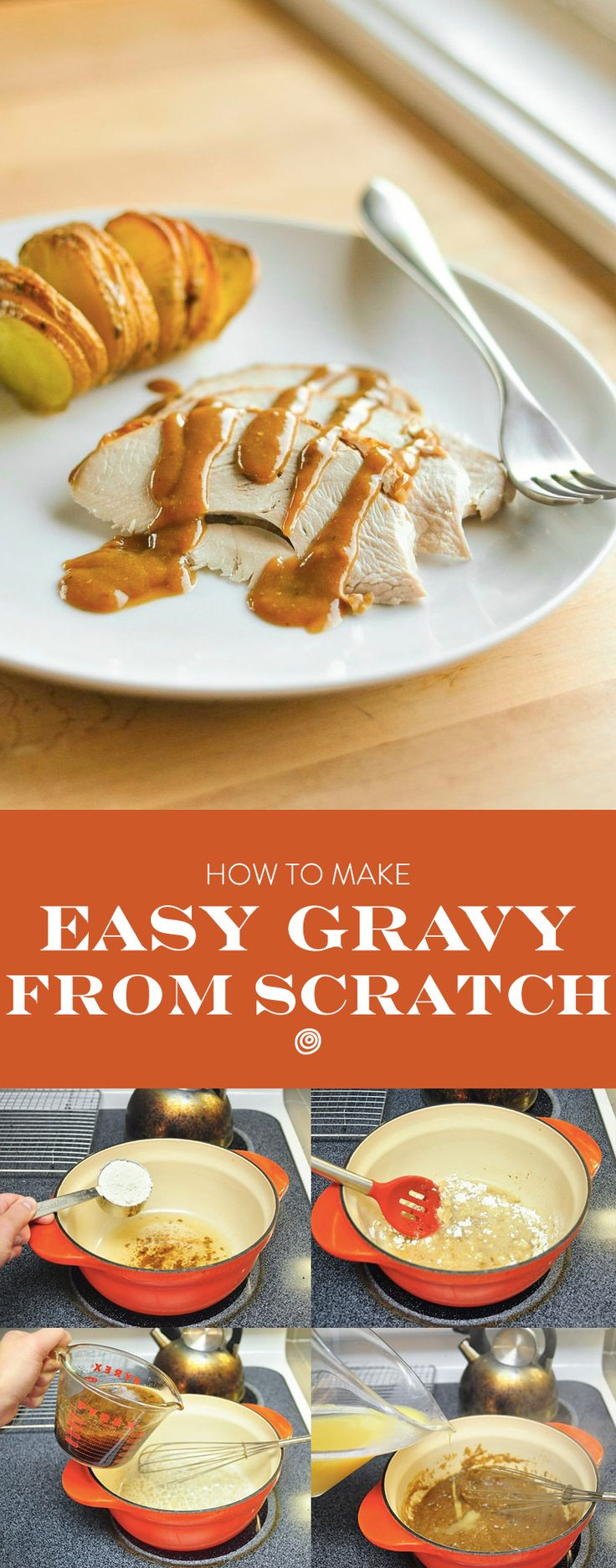 Turkey Gravy From Scratch  How To Make an Easy Turkey Gravy Recipe