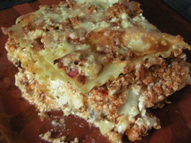 Turkey Lasagna Recipe  Ground Turkey Lasagna Recipe Food