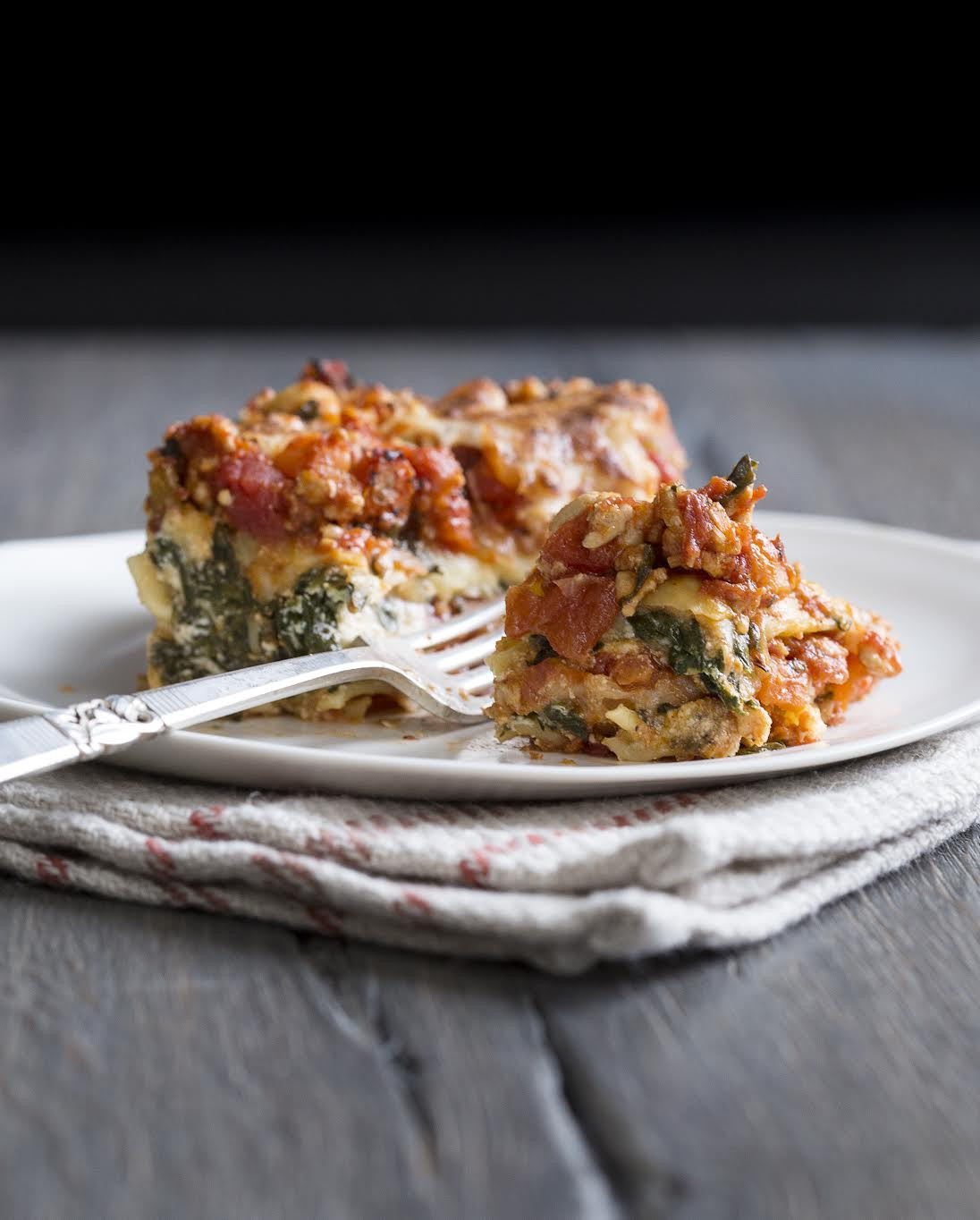 Turkey Lasagna Recipe  Spinach & Turkey Lasagna from The Yellow Table – Design Sponge