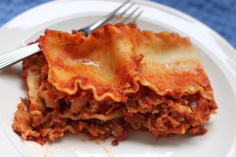 Turkey Lasagna Recipe  turkey lasagna