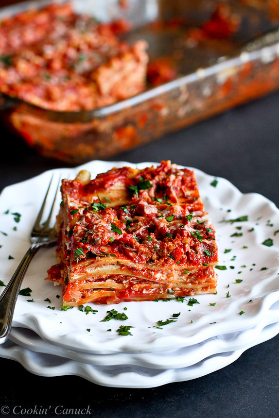Turkey Lasagna Recipe  Best Low Fat Turkey Lasagna Recipe