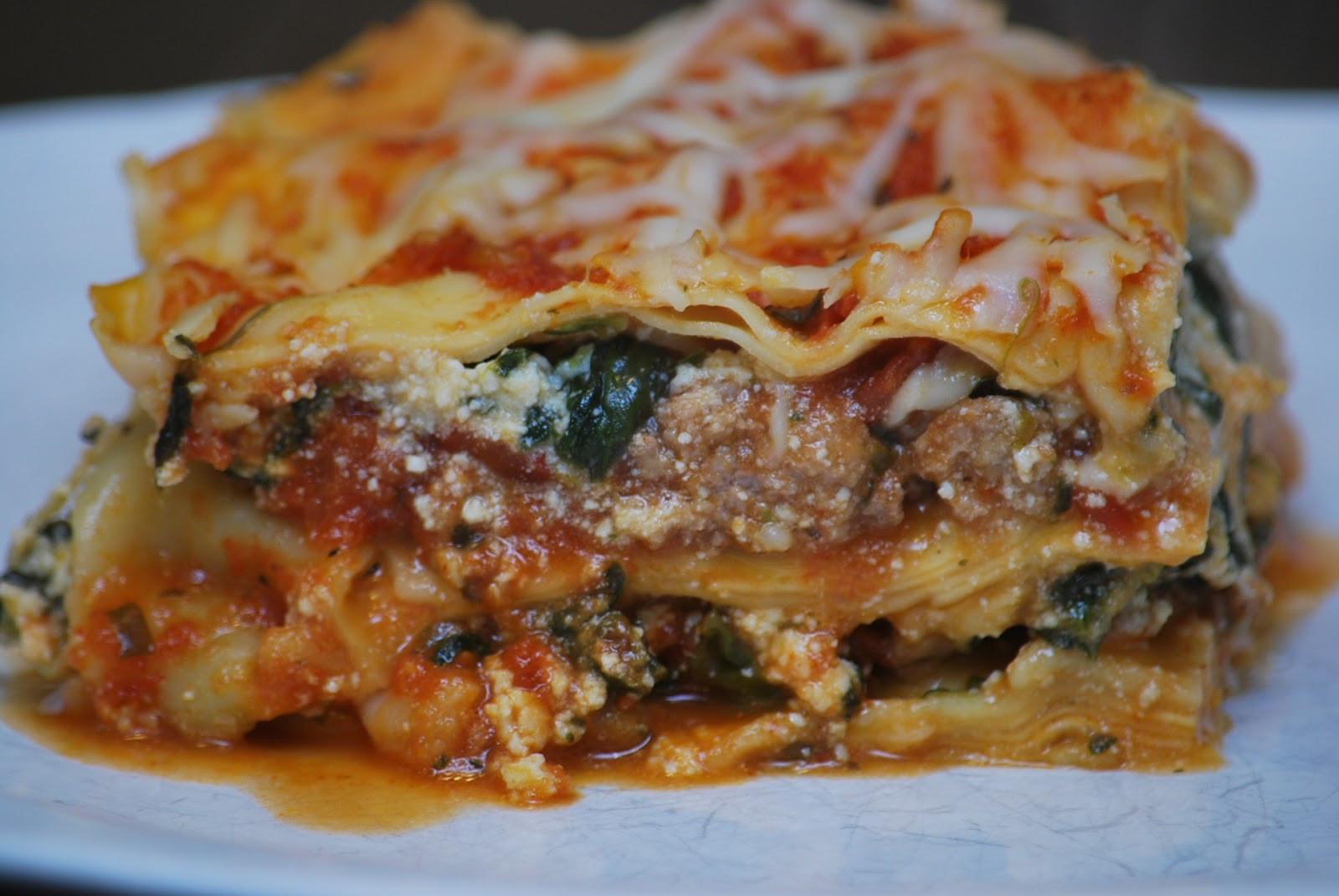 Turkey Lasagna Recipe  My story in recipes Turkey Lasagna