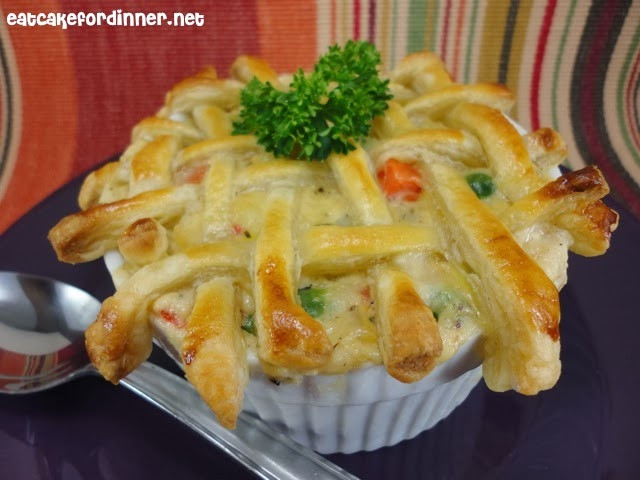 Turkey Pot Pie With Puff Pastry  Eat Cake For Dinner 17 Leftover Turkey Recipes