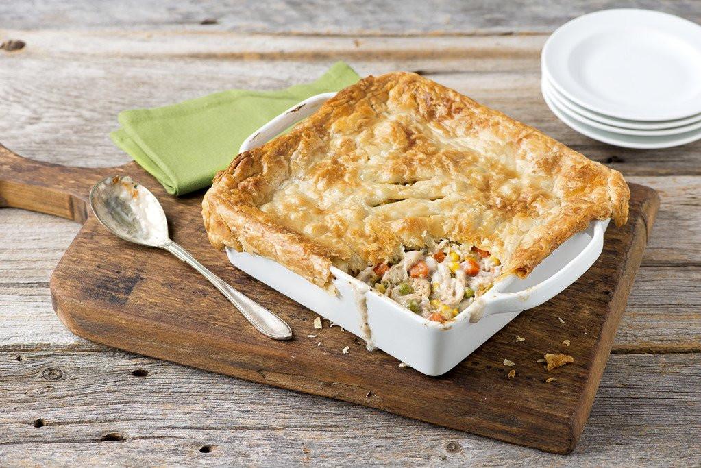 Turkey Pot Pie With Puff Pastry  Turkey Pot Pie Recipe