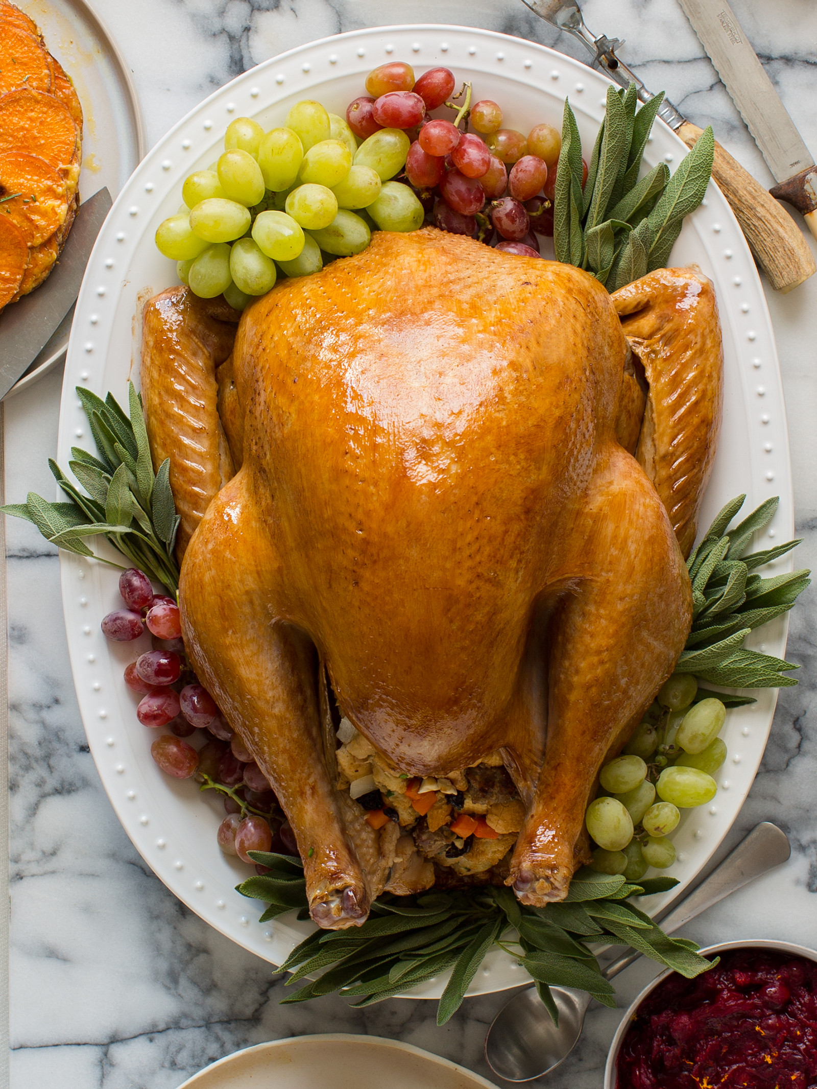 Turkey Recipe For Thanksgiving  Citrus and Herb Roasted Turkey Thanksgiving