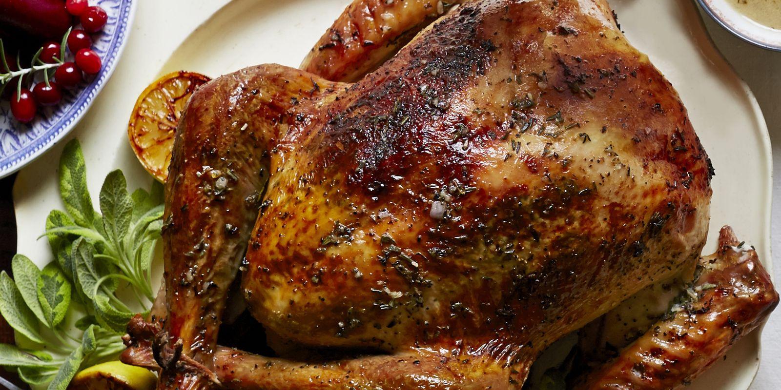 Turkey Recipe For Thanksgiving  Herb and Citrus Butter Roasted Turkey Recipe