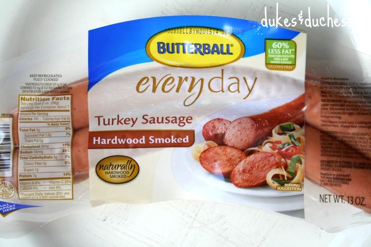 Turkey Sausage Calories  butterball turkey sausage nutrition