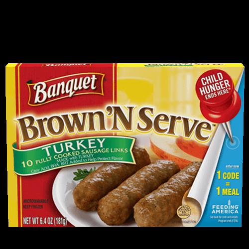 Turkey Sausage Calories  Brown N Serve Turkey Sausage Links