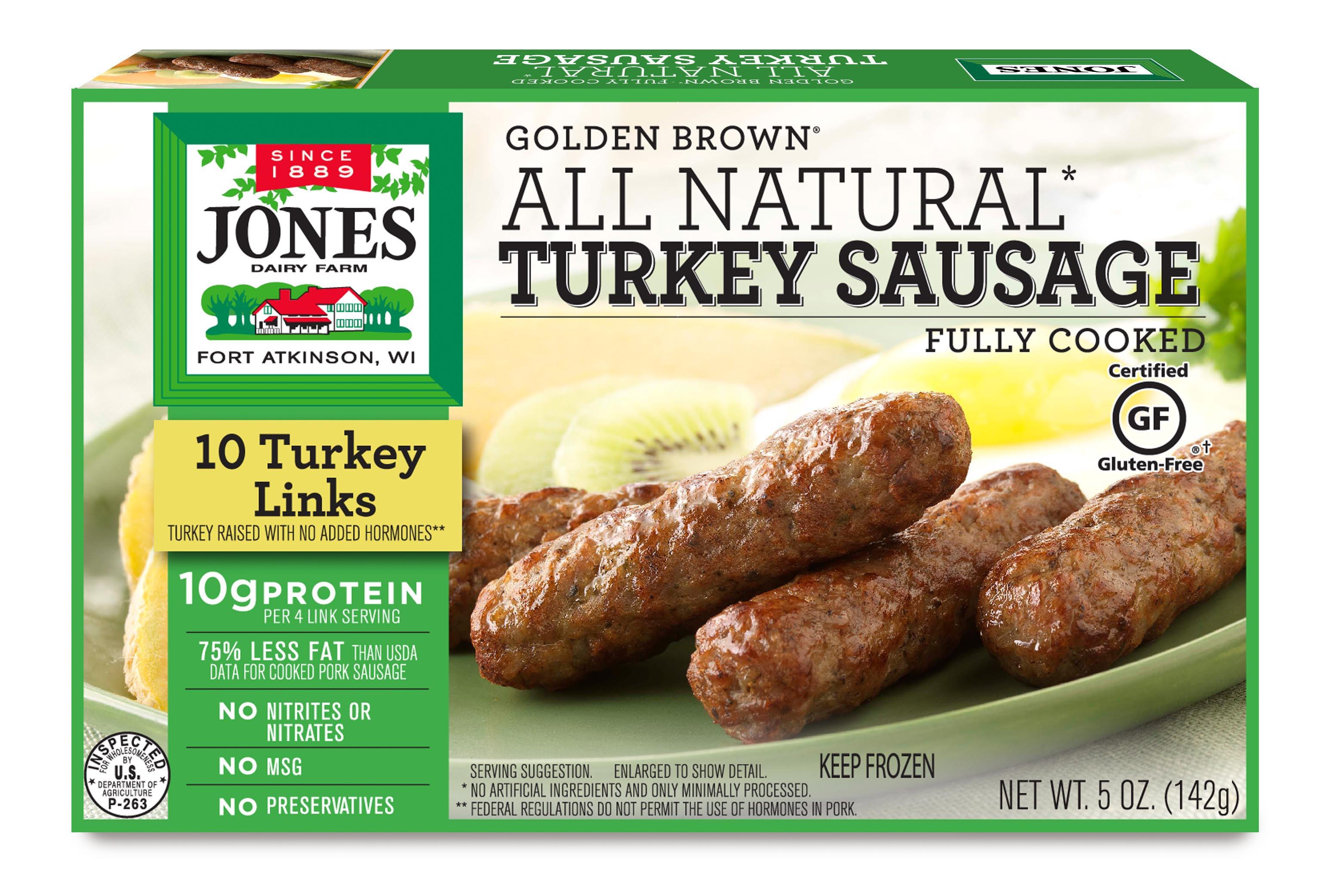 Turkey Sausage Calories  turkey sausage nutrition