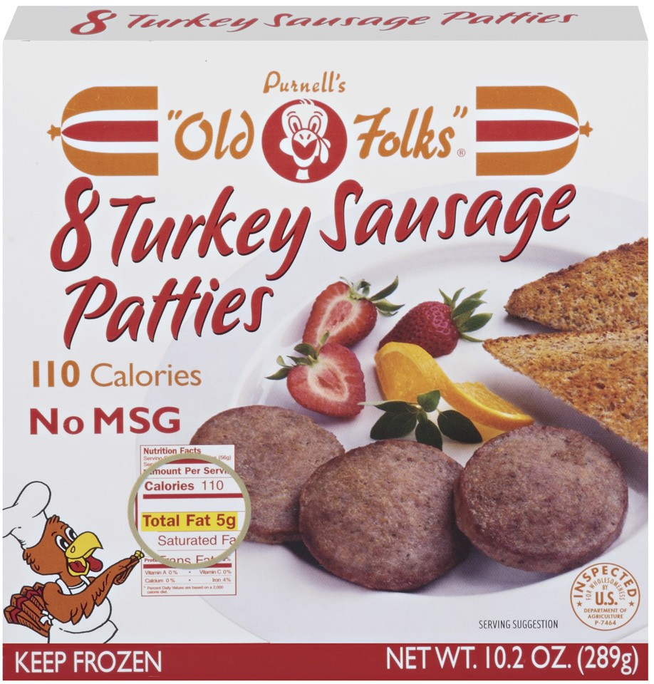 Turkey Sausage Calories  turkey sausage patties nutrition