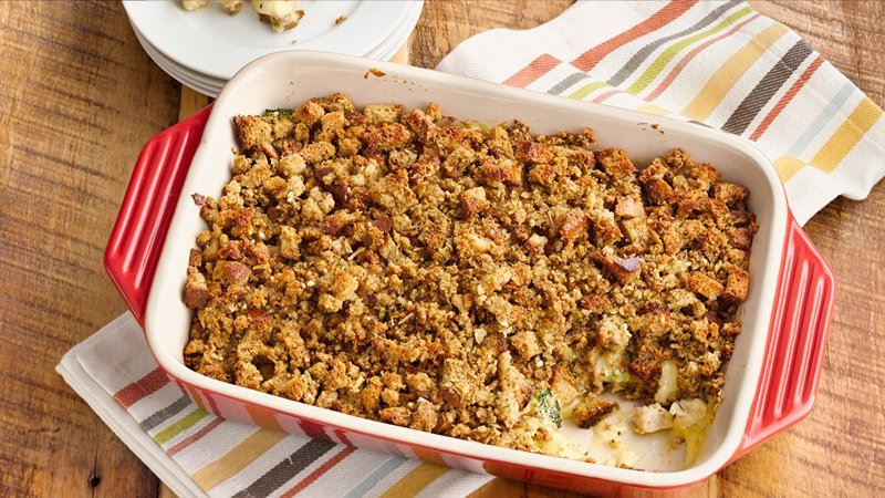 Turkey Stuffing Casserole  25 leftover turkey recipes