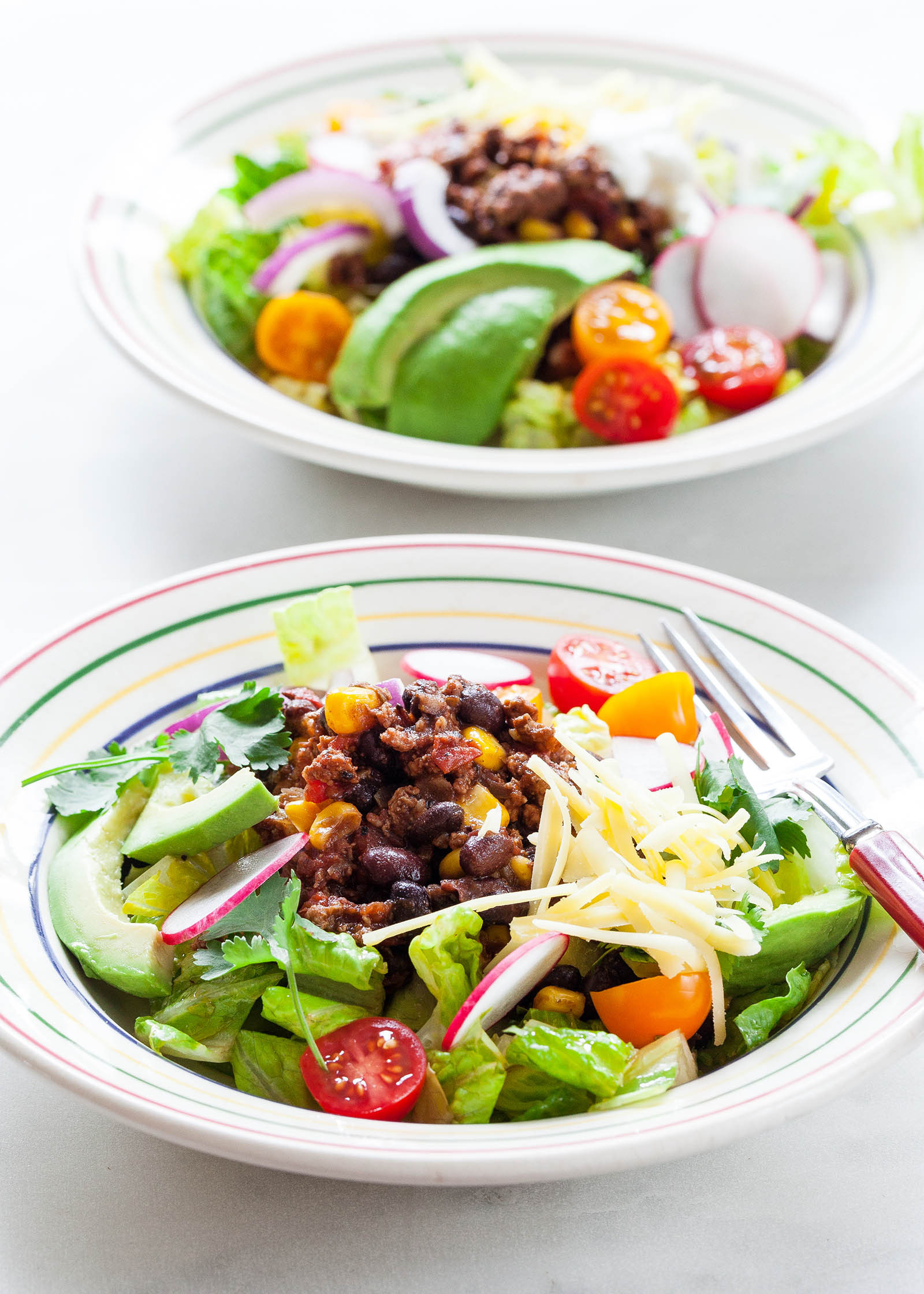 Turkey Taco Salad  Turkey Taco Salad Recipe