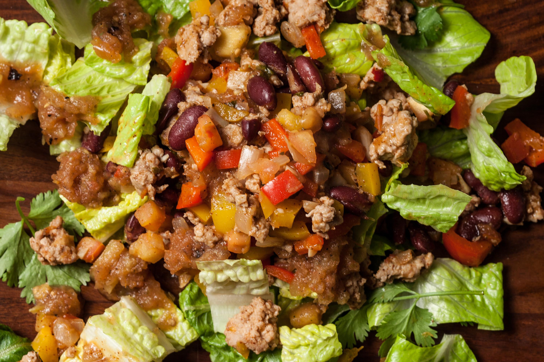 Turkey Taco Salad  Turkey Taco Salad Recipe Chowhound