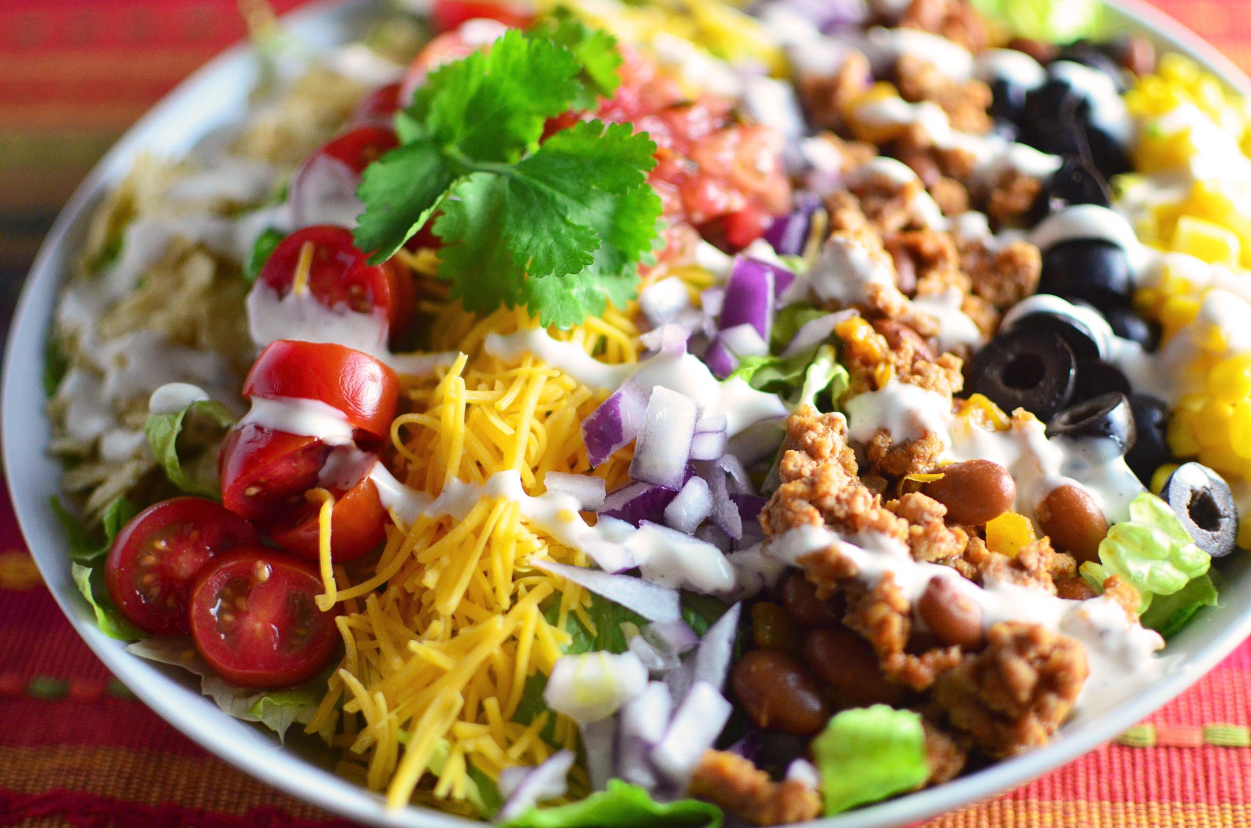 Turkey Taco Salad  Turkey Taco Salad Simple Sweet & Savory