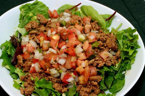 Turkey Taco Salad  Turkey Taco Salad A Southern Fairytale