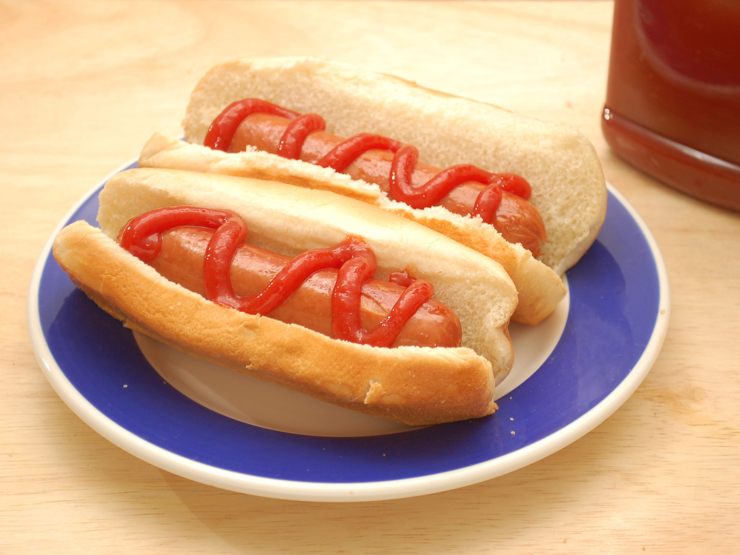 Two Hot Dogs  3 Easy Ways to Boil a Hot Dog wikiHow