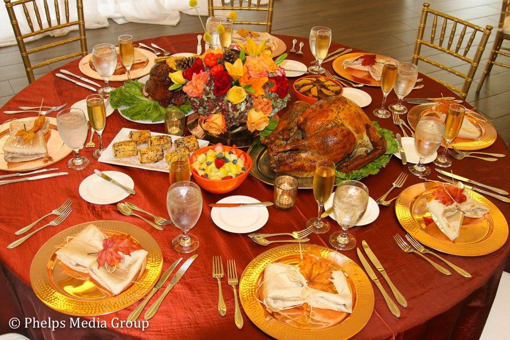 Typical Thanksgiving Dinner  Wellington National Golf Club fers Thanksgiving Dinner