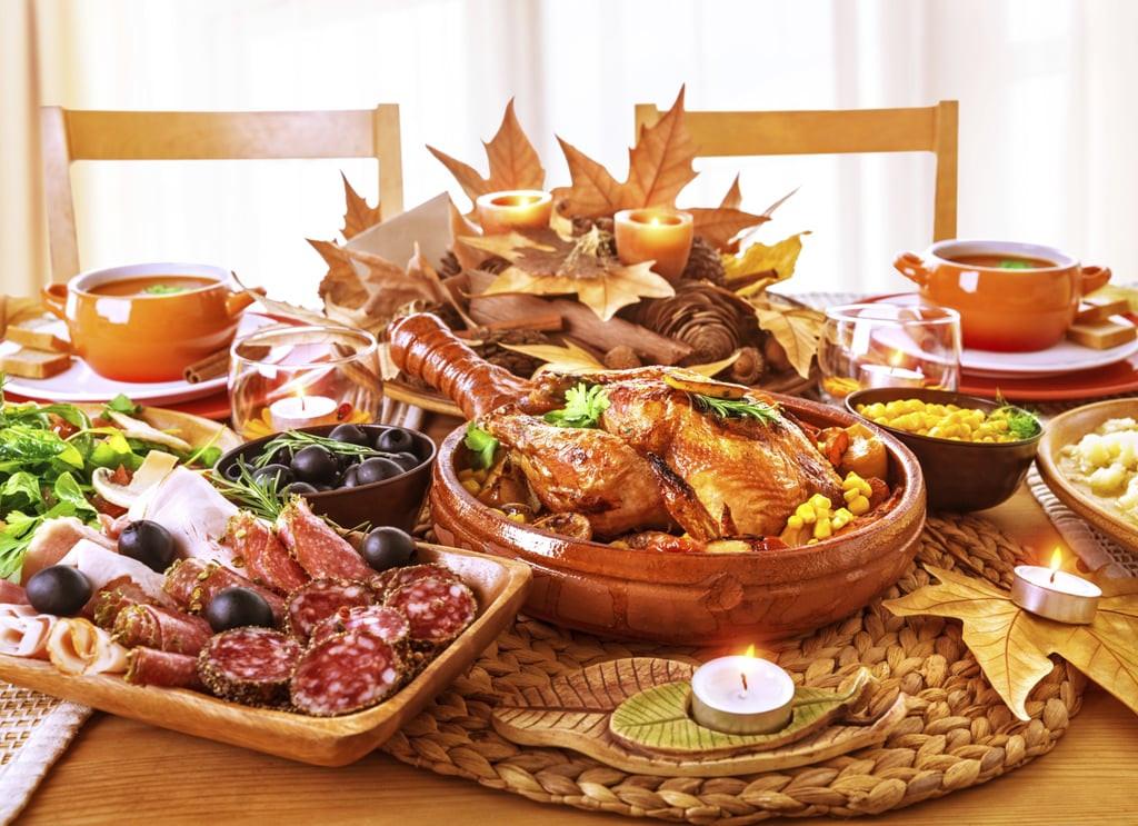 Typical Thanksgiving Dinner  Vegan Thanksgiving GIFs